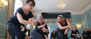 You're never past your prima: Ballet classes are booming - for older women