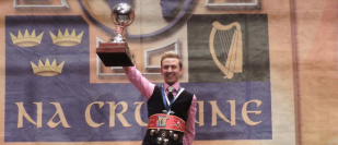 Newbury man crowned world champion in Irish dancing