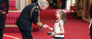Gabriella fulfils Granny's last wish by collecting Youth Ballet founder's CBE