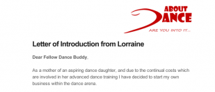 Dance Directory Pre-launch offer