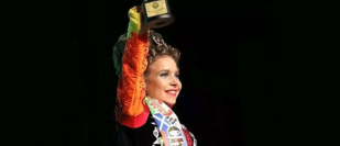 Young dancer wins world title, for the second time