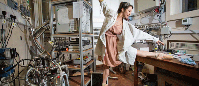 Oxford physicist and professional ballerina battles to become astronaut in new BBC show