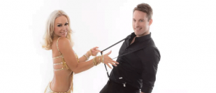 Strictly's Kristina hotfoots it to Coleraine with partner Tristan