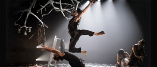 National Dance Company Wales take a triple-bill of work to Blackpool and Ipswich, September 2017