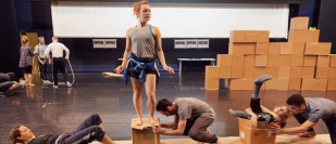 Rehearsals start for National Dance Company Wales & Marc Rees' P.A.R.A.D.E.