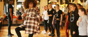 Diversity stars come to famous Nottingham studio to teach and inspire young dancers