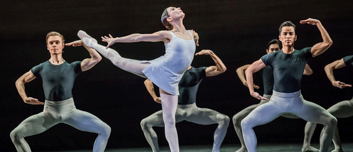 Song of the Earth/La Sylphide review – Rojo powers a demanding double bill