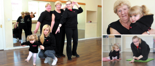 Five generations share dance passion