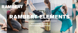 Rambert is launching 'Rambert Elements' a choreography programme for schools