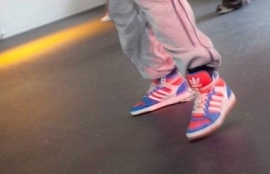 Multi-purpose floor, especially good when wearing trainers