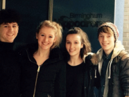 Banbury students take to the stage before Birmingham production